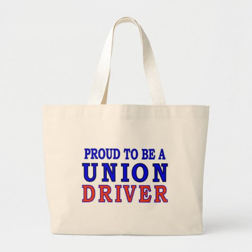 UNION DRIVER JUMBO TOTE BAG