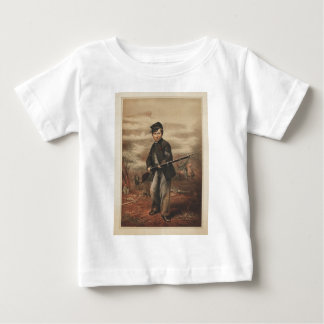 Union Drummer Boy John Clem at Point Lookout Baby T-Shirt