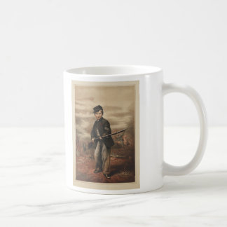 Union Drummer Boy John Clem at Point Lookout Coffee Mug