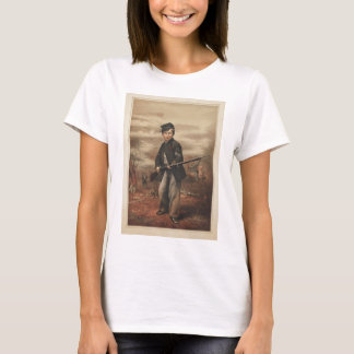 Union Drummer Boy John Clem at Point Lookout T-Shirt