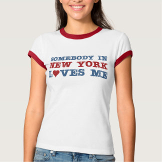 Union Eight Somebody in New York Loves Me Tee Shirt