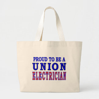 UNION ELECTRICIAN LARGE TOTE BAG