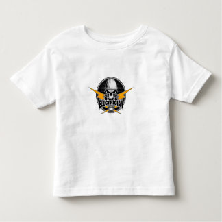 Union Electrician: Skull and Thunderbolts Toddler T-shirt
