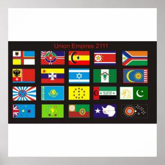 Union Empires: 2111 Print