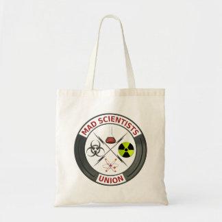 Unión enojada del científico bolsa
