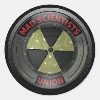Unión enojada del científico