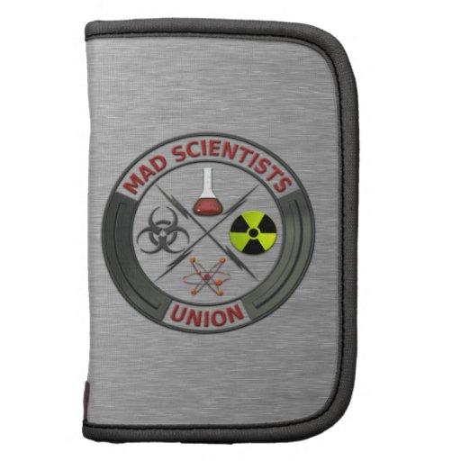 Unión enojada del científico planificadores