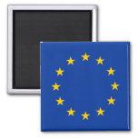 Unión europea - la UE señala por medio de una band Imán