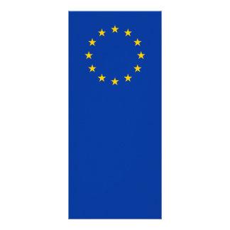 Unión europea - la UE señala por medio de una Lona Publicitaria