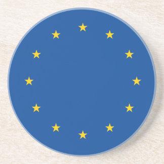 Unión europea posavasos de arenisca
