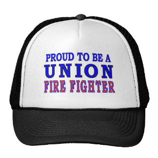UNION FIRE FIGHTERS HAT