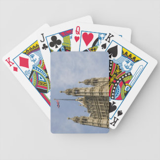 Union Flag Bicycle Playing Cards