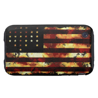 Union Flag, Civil War, Stars and Stripes, USA iPhone 3 Tough Covers