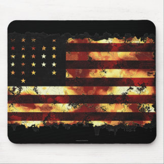 Union Flag, Civil War, Stars and Stripes, USA Mouse Pad
