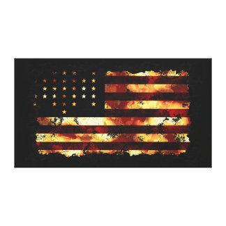 Union Flag, Civil War, Stars & Stripes, USA Canvas Print