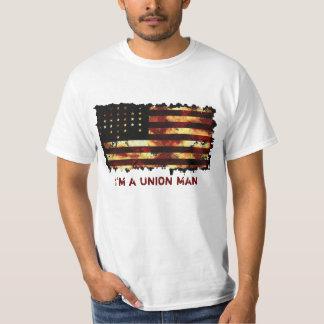 Union Flag, Civil War, US Flag Funny Tee