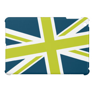 Union Flag iPad Mini Case (Navy/LIme)
