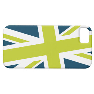 Union Flag iPhone Case (Navy/Lime)