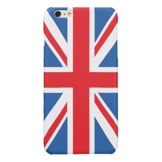 Union Flag/Jack Design Glossy iPhone 6 Plus Case