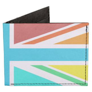 Union Flag/Jack Design – Multicoloured Billfold Wallet