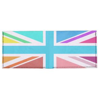 Union Flag/Jack Design – Multicoloured Tyvek Wallet