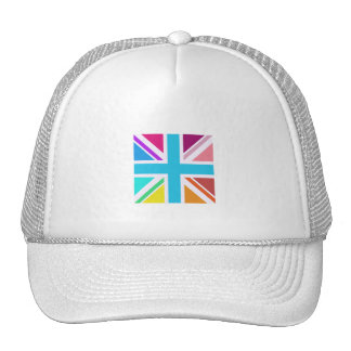 Union Flag/Jack Design - Multicoloured Hats