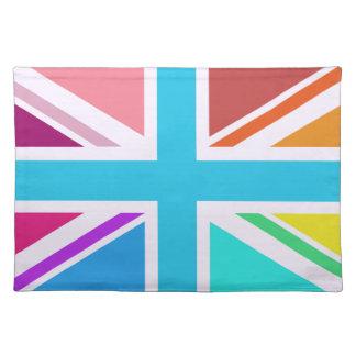 Union Flag/Jack Design - Multicoloured Placemat