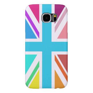 Union Flag/Jack Design - Multicoloured Samsung Galaxy S6 Case