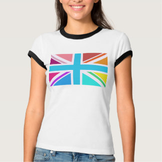 Union Flag/Jack Design – Multicoloured T-Shirt