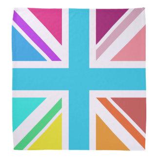 Union Flag/Jack Square Design – Multicoloured Bandana