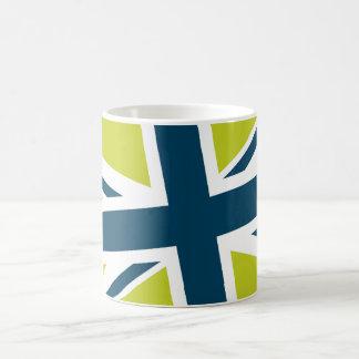 Union Flag Mug (Lime/Navy)