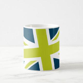 Union Flag Mug (Navy/Lime)