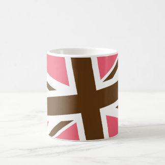 Union Flag Mug (Pink/Brown)