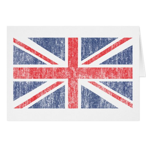 Union Flag Vintage Greeting Cards