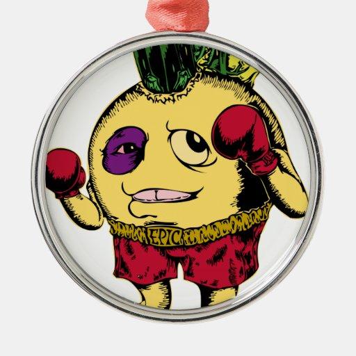 Union Funny Boxing Ornament