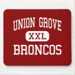 Union Grove - Broncos - High - Union Grove Mouse Pad