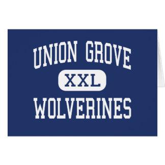 Union Grove - Wolverines - High - McDonough Card