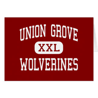 Union Grove - Wolverines - High - McDonough Cards