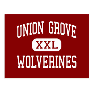 Union Grove - Wolverines - High - McDonough Postcard
