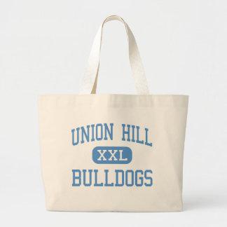 Union Hill - Bulldogs - High School - Gilmer Texas Jumbo Tote Bag