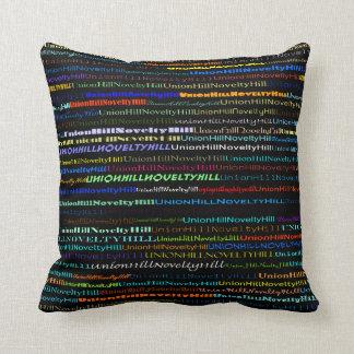Union Hill-Novelty Hill TxtDesignI Throw Pillow