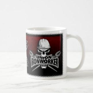 Union Ironworker Crossed Wrenches Coffee Mug