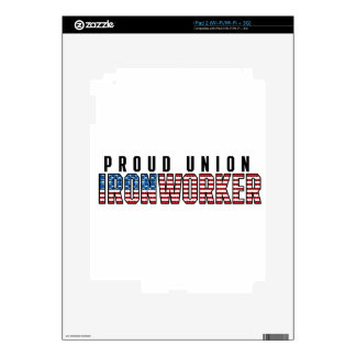 Union Ironworker Skins For iPad 2