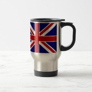 Union Jack 15 Oz Stainless Steel Travel Mug
