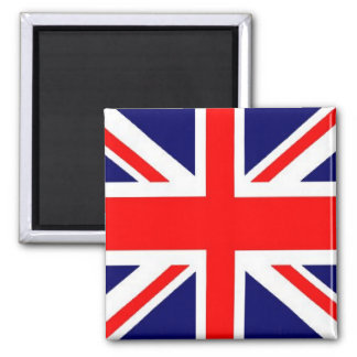 Union Jack 2 Inch Square Magnet