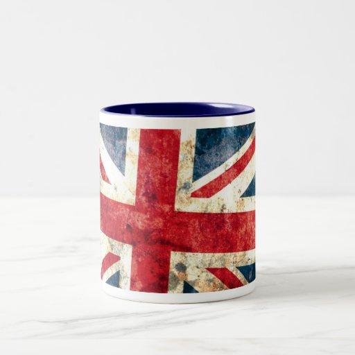 Union Jack #2 Taza De Dos Tonos