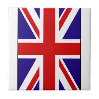 Union Jack 2 Small Square Tile