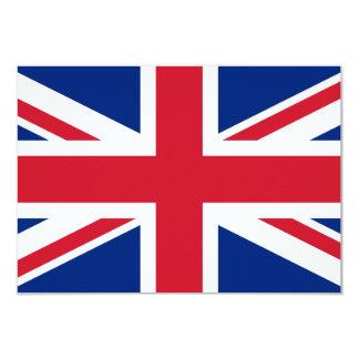 Union Jack 3.5x5 Paper Invitation Card