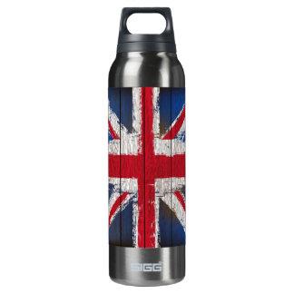 Union Jack  aluminium Insulated Water Bottle