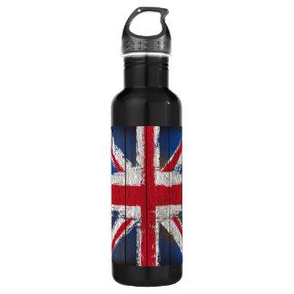 Union Jack  aluminium Water Bottle